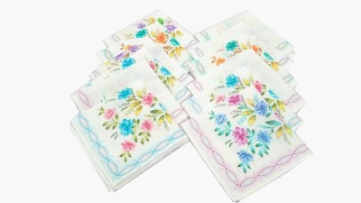 SaifeeSons Blooming Roses Handkerchief