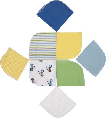 Pebbles Hankies Set of 8 - MultiColor Handkerchief