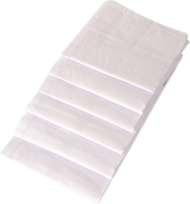 S4S Men's White Handkerchief