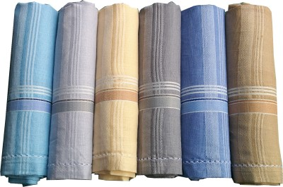 Supriya Multicolor Men,s Cotton 41x41Cm Handkerchief