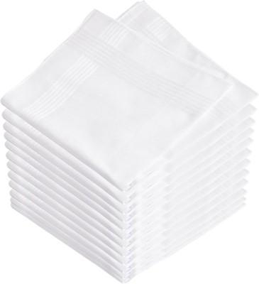 Maccaino Premium Exquisite Pure White Handkerchief