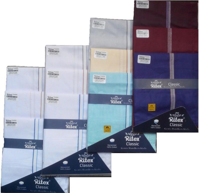 Ritex Classic-6wb-3db-3lb Handkerchief(Pack of 12)