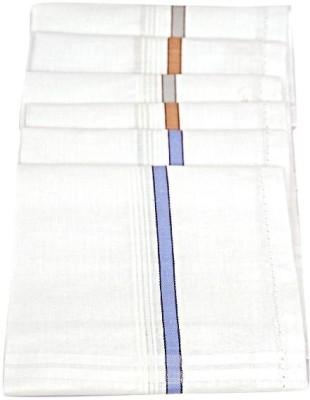 Homeshopeez WHT-STR-6 Handkerchief