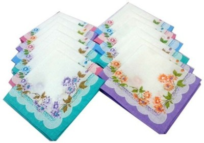 Globalgifts SET OF 24 BEAUTIFUL HANNDKERCHIEF Handkerchief