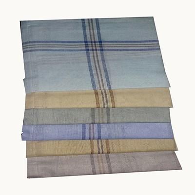 Shopmania Double color strips-DSZ-36 Handkerchief