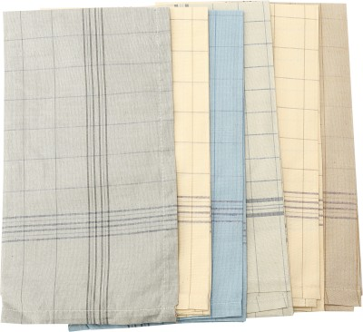 Gumber Coloured Checked Handkerchief