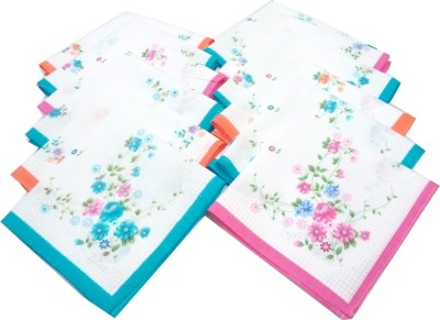 SaifeeSons Fragrance Flowers Handkerchief