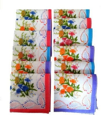 Global Gifts Set Of Premium Cotton Handkerchief