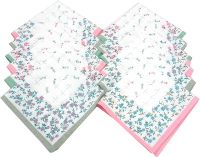 SaifeeSons Tiny Little Flowers Handkerchief