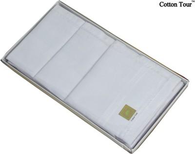 Cotton Tour Milky white Handkerchief