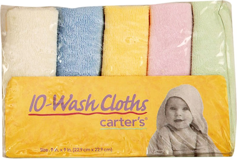 Carter's 10 - Wash Cloths Handkerchief(Pack of 10)