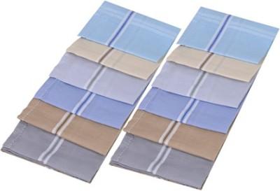 Smart Zone Multi-Coloured Men's Cotton Handkerchief