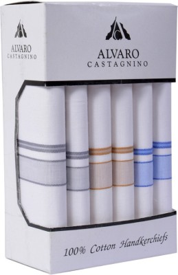Alvaro Color Border Handkerchief