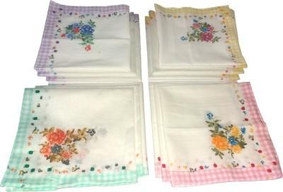 Shopmania Check Border Design Handkerchief