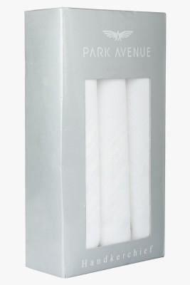 Park Avenue 60S X 60S White By White Handkerchief