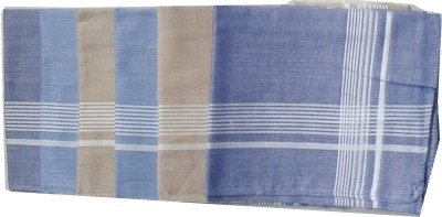SaifeeSons Stripes Border Handkerchief
