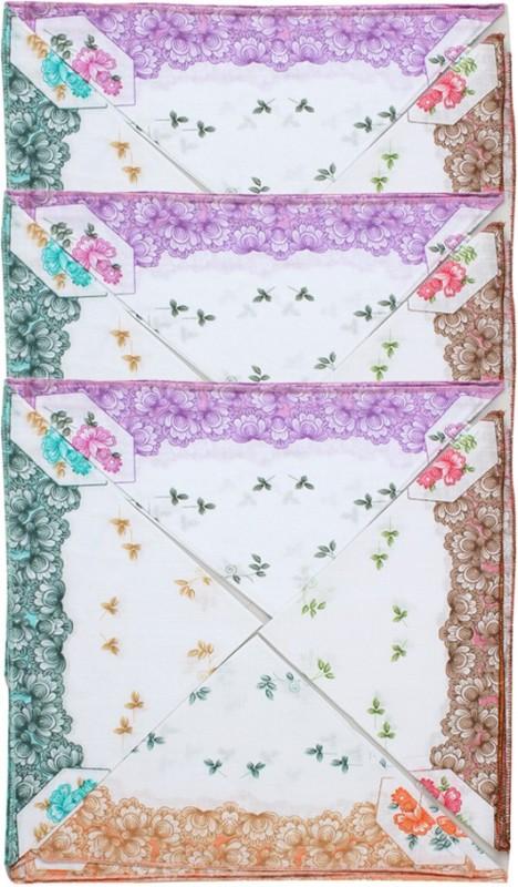 Saffron Designs Hanky030 Handkerchief(Pack of 12)