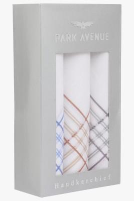 Park Avenue 60S X 60S White By Colour Handkerchief