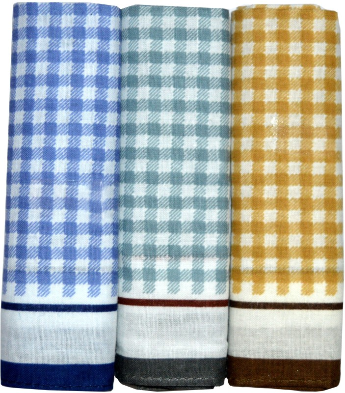 Marc Mercedes Handkerchief(Pack of 3)