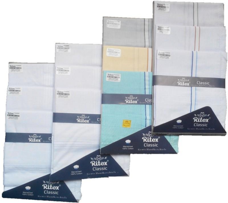 Ritex Classic-6ww-3wb-3lb Handkerchief(Pack of 12)