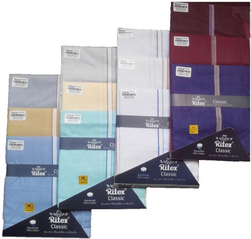 Ritex Classic-6lb-3db-3wb Handkerchief(Pack of 12)