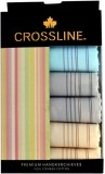Crossline Plain With Border Handkerchief...