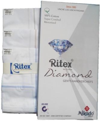Ritex Diamond-W/B Handkerchief