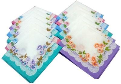 Aadishwar Creations wom12 Handkerchief