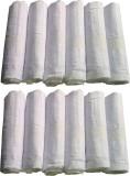 Supriya Plain White Men's 41x41Cm Pack o...