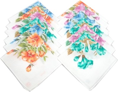SaifeeSons Colourful Roses Handkerchief