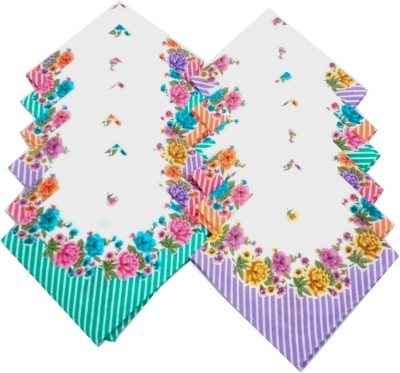 SaifeeSons Blooming Flowers Handkerchief
