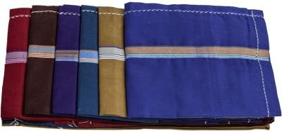Darbar Handloom Alfa Dark Handkerchief