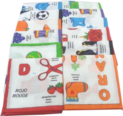 SaifeeSons Educational Colours Handkerchief
