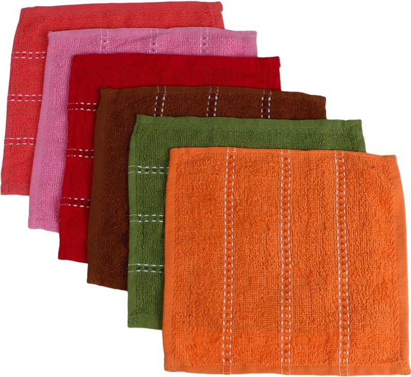 Zacharias Solid Charm Handkerchief(Pack of 6)