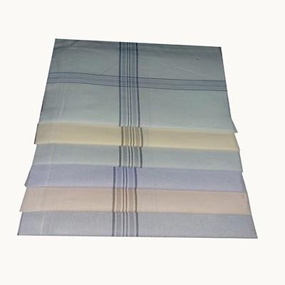 Shopmania Double color strips-DSZ-37 Handkerchief