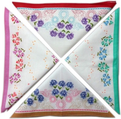 Blacksmith 100% Cotton Ladies Handkerchief Colorful Prints Handkerchief