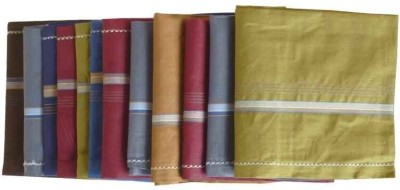 Sondagar Arts Mens Handkerchief Set of 12 Handkerchief