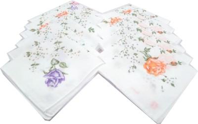 SaifeeSons Floral Flowers Handkerchief