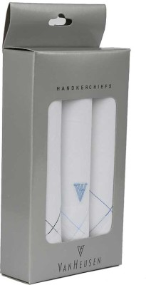 Van Heusen Mens Cotton Hanky Handkerchief