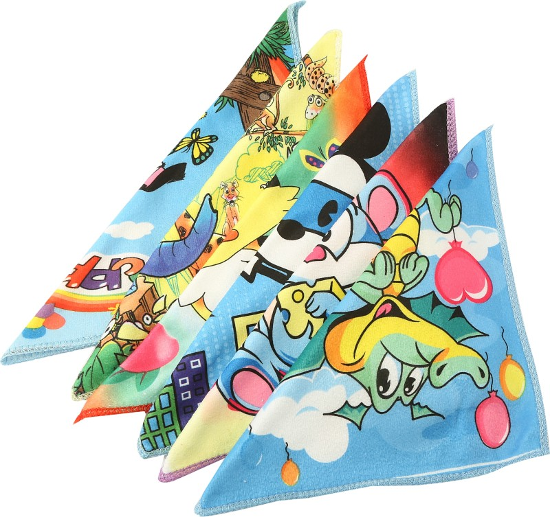 Gumber Printed Handkerchief(Pack of 6)