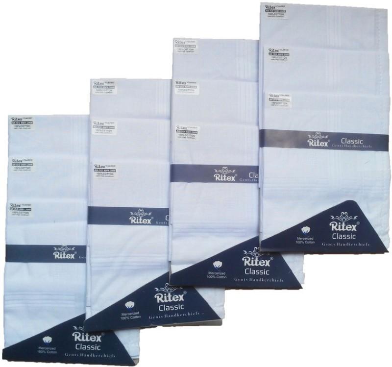Ritex Classic-Ww Handkerchief(Pack of 12)