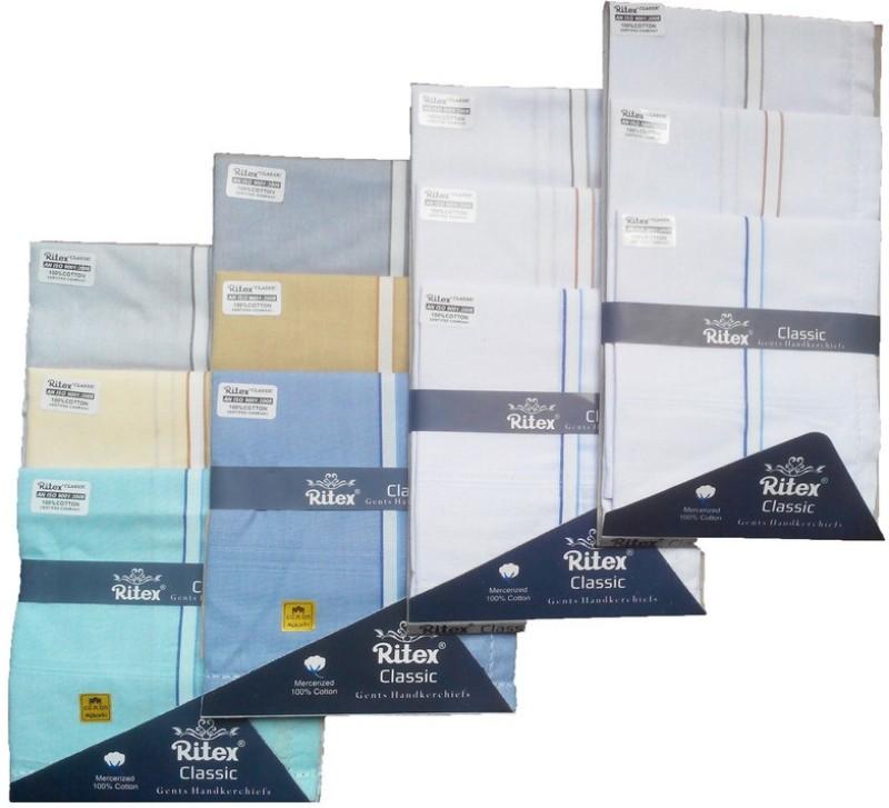 Ritex Classic-6lb-6wb Handkerchief(Pack of 12)