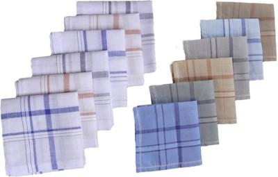 S4S Men's Striped & Colour Handkerchief