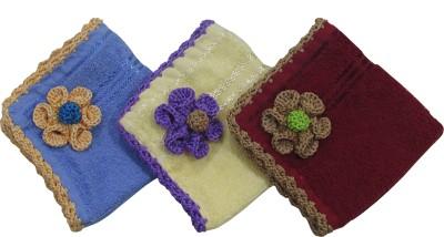 Fihana Designer Multicolor Crochet Handkerchief