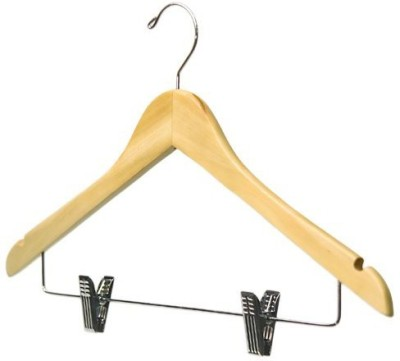 Toygully Wooden Pack of 6 Cloth Hangers