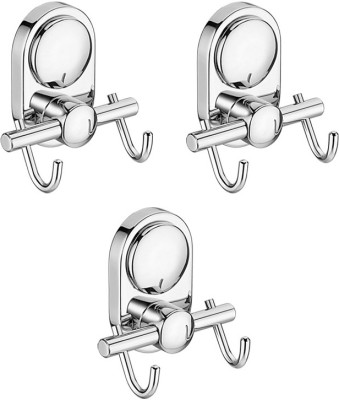 Doyours Multipurpose Hook Stainless Steel Pack of 3 Cloth Hangers