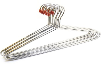 Laxmi Stainless Steel Stainless Steel Pack of 12 Cloth Hangers