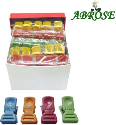 ABROSE Plastic Pack of 50 Cloth Hangers