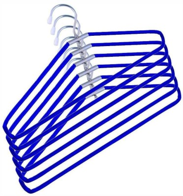 Aar India Steel Pack of 12 Cloth Hangers
