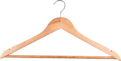 Brecken Paul Wooden Pack of 6 Cloth Hangers
